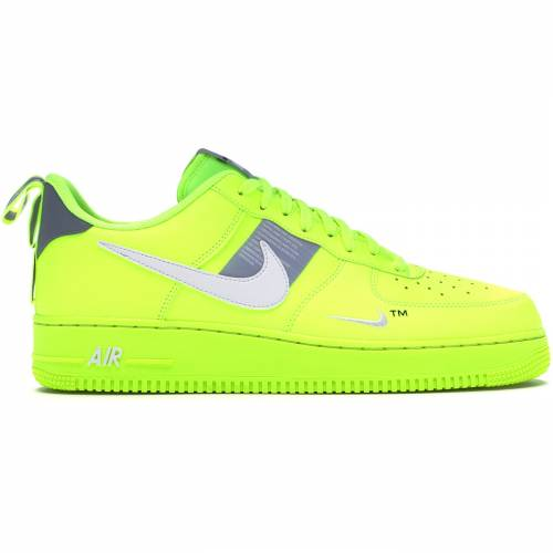 ナイキ NIKE エア スニーカー 【 AIR FORCE 1 UTILITY VOLT 2 WHITEBLACKWOLF GREY 】 メンズ