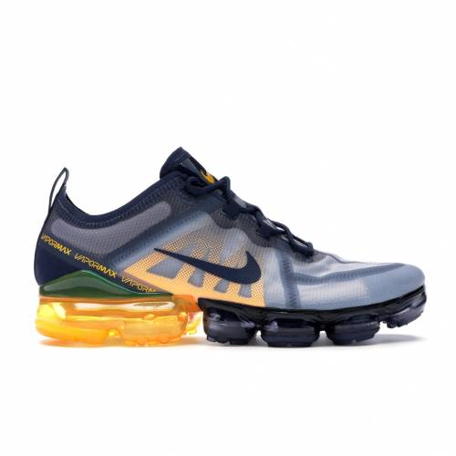 ナイキ NIKE エアー 紺 ネイビー レーザー スニーカー 【 AIR NAVY LASER VAPORMAX 2019 MIDNIGHT ORANGE NAVYLASER ORANGEOBSIDIAN MIST 】 メンズ 送料無料
