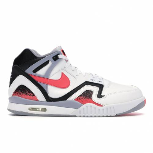 ナイキ NIKE エア テック スニーカー 【 AIR TECH CHALLENGE II HOT LAVA 2014 WHITE LAVABLACKFLAT SILVER 】 メンズ