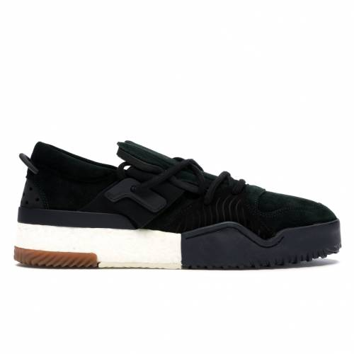 アディダス ADIDAS 緑 グリーン スニーカー 【 GREEN AW BBALL LO ALEXANDER WANG NIGHT CORE BLACK 】 メンズ