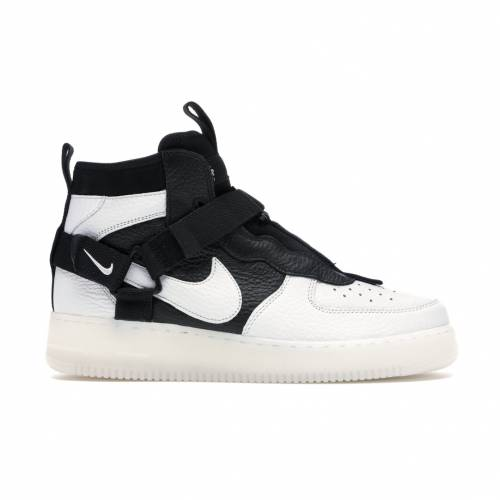 ナイキ NIKE エア ミッド スニーカー 【 AIR FORCE 1 UTILITY MID ORCA OFF WHITE BLACKWHITE 】 メンズ