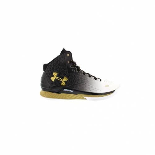 アンダーアーマー UNDER ARMOUR カリー スニーカー 【 CURRY UA 1 MVP BLACK GOLD 】 メンズ 送料無料