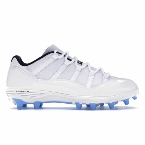 ナイキ ジョーダン JORDAN スニーカー 【 11 RETRO LOW CLEAT COLUMBIA WHITE UNIVERSITY BLUEBLACK 】 メンズ