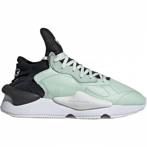 アディダス ADIDAS スニーカー 【 Y3 KAIWA SALTY GREEN CORE BLACK FOOTWEAR WHITE 】 メンズ
