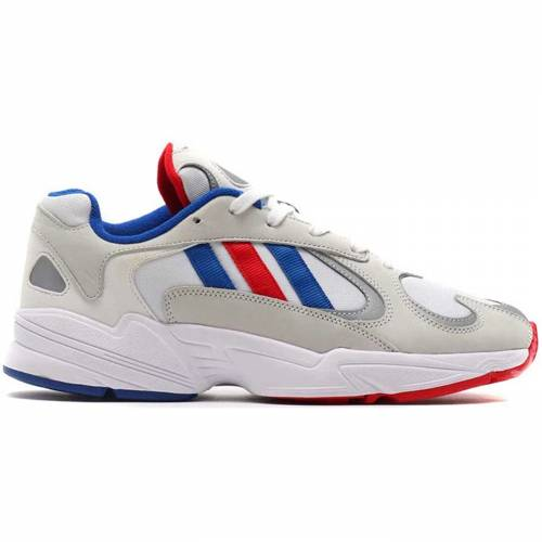 アディダス ADIDAS スニーカー 【 YUNG 1 ATMOS BARBERSHOP BRIGHT WHITE COLLEGE BLUE LIGHT SCARLET 】 メンズ