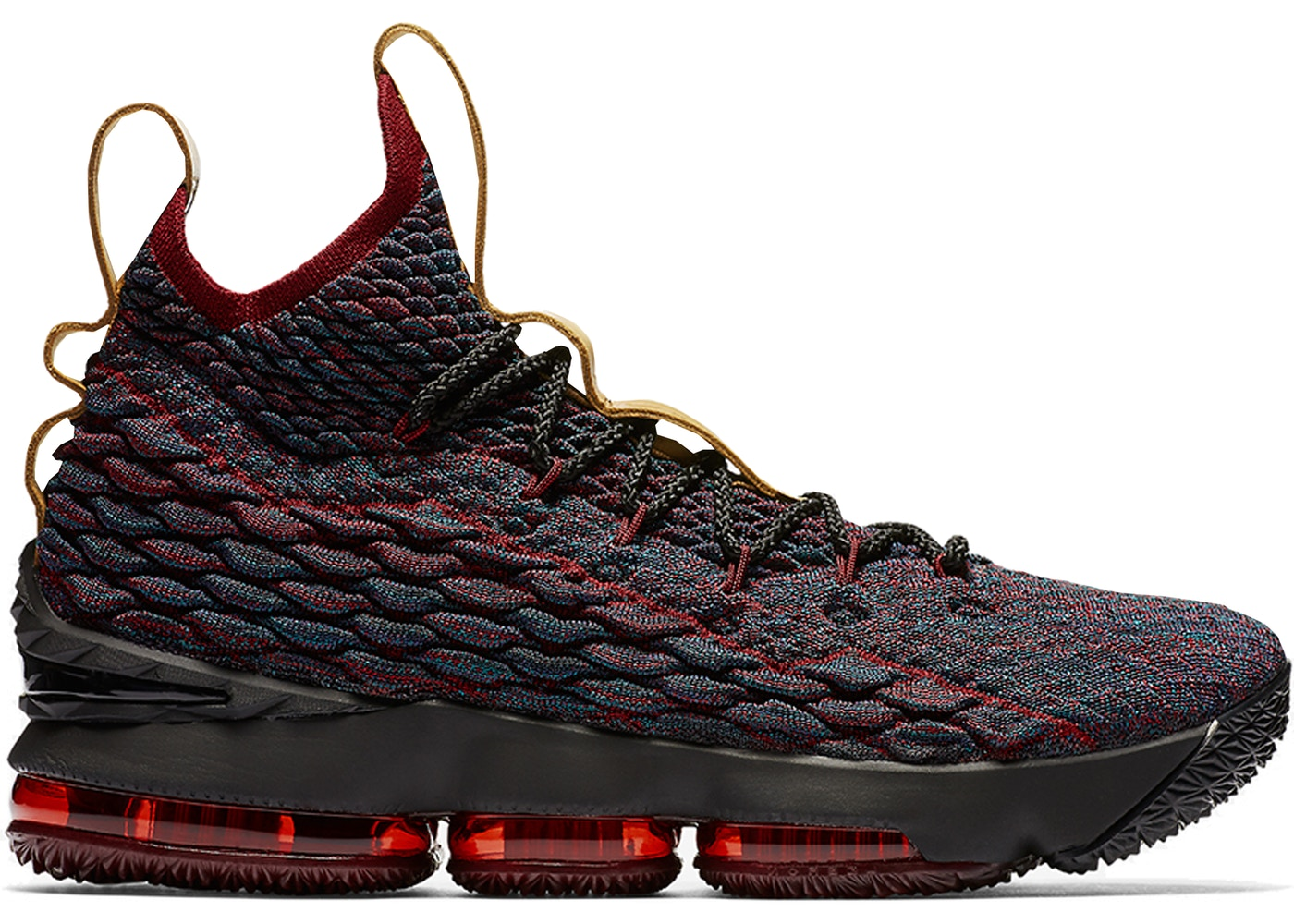 ナイキ NIKE レブロン スニーカー 【 LEBRON 15 NEW HEIGHTS DARK ATOMIC TEAL ALE BROWNTEAM RED 】 メンズ