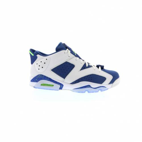 ナイキ ジョーダン JORDAN スニーカー 【 6 RETRO LOW GHOST GREEN WHITE GREENINSIGNIA BLUE 】 メンズ