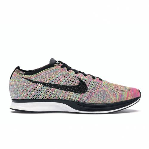 ナイキ NIKE フライニット 3.0 スニーカー 【 FLYKNIT RACER MULTICOLOR 2016 DARK GREY BLACKBLUE GLOWPINK FLASH 】 メンズ