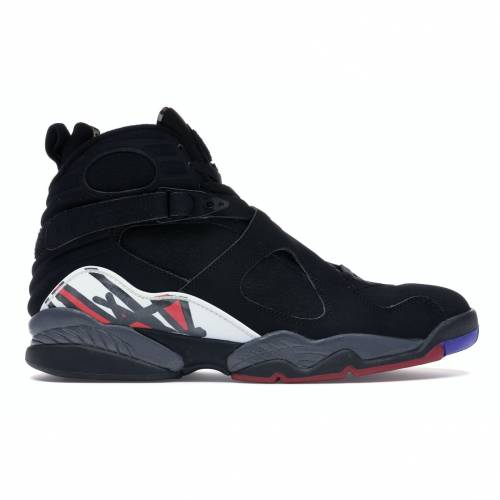 ナイキ ジョーダン JORDAN スニーカー 【 8 RETRO PLAYOFFS 2007 BLACK VARSITY REDWHITE 】 メンズ