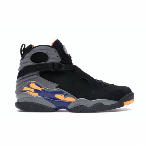ナイキ ジョーダン JORDAN フェニックス スニーカー 【 8 RETRO PHOENIX SUNS BLACK BRIGHT CITRUSCOOL GREYDEEP ROYAL BLUE 】 メンズ