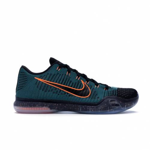ナイキ NIKE コービー エリート スニーカー 【 KOBE 10 ELITE LOW DRILL SERGEANT DARK ATOMIC TEAL MINERAL TEALBLACKTOTAL ORANGE 】 メンズ