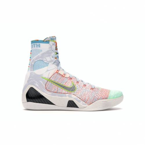 ナイキ NIKE コービー エリート スニーカー 【 KOBE 9 ELITE WHAT THE MULTICOLOR REFLECT SILVERCHLORINE BLUE 】 メンズ