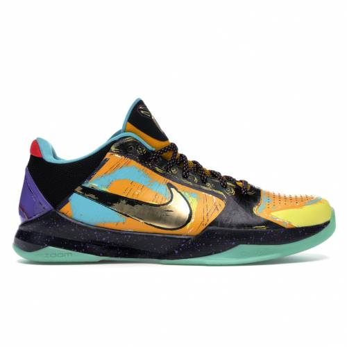 ナイキ NIKE コービー スニーカー 【 KOBE 5 PRELUDE FINALS MVP UNIVERSITY GOLD METALLIC GOLDGAMMA BLUE 】 メンズ