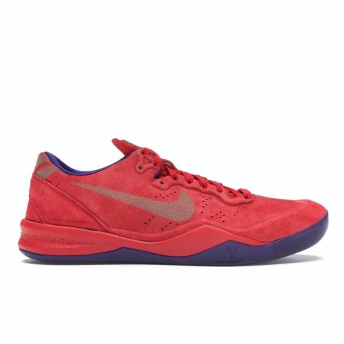ナイキ NIKE コービー スニーカー 【 KOBE 8 EXT YEAR OF THE SNAKE RED UNIVERSITY REDCOURT PURPLE 】 メンズ