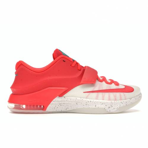 ナイキ NIKE スニーカー 【 KD 7 CHRISTMAS EGGNOG BRIGHT CRIMSON EMERALD GREEN IVORY 】 メンズ