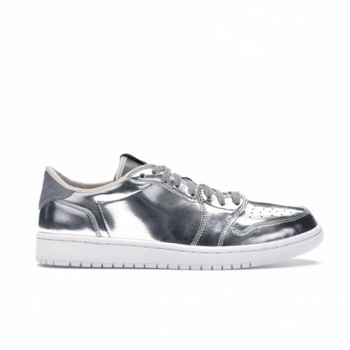 ナイキ ジョーダン JORDAN スニーカー 【 1 RETRO LOW PINNACLE METALLIC SILVER WHITE 】 メンズ