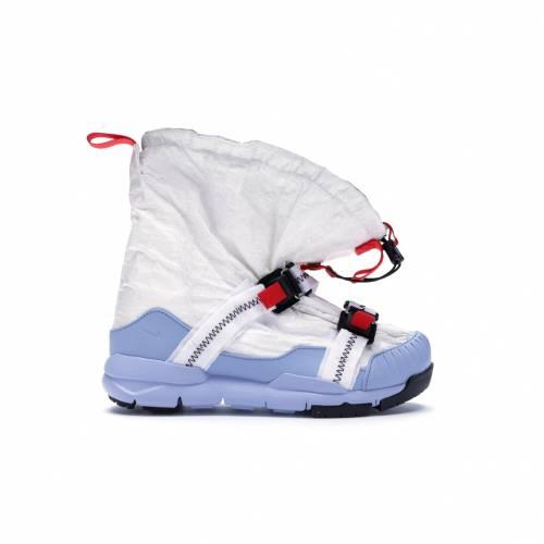 ナイキ NIKE ヤード スニーカー 【 MARS YARD OVERSHOE TOM SACHS WHITE COBALT BLISSSPORT REDBLACK 】 メンズ