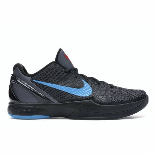 ナイキ NIKE コービー スニーカー 【 KOBE 6 DARK KNIGHT GREY BLUE GLOWBLACKCHALLENGE RED 】 メンズ