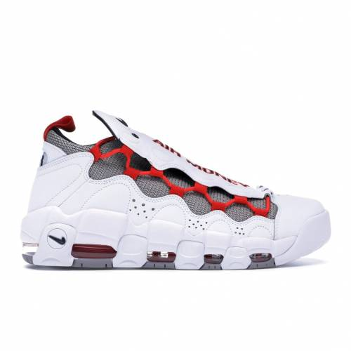 ナイキ NIKE エア 白 ホワイト 赤 レッド スニーカー 【 AIR WHITE RED MORE MONEY HABANERO ATMOSPHERE GREY BLACKHABANERO REDATMOSPHERE 】 メンズ