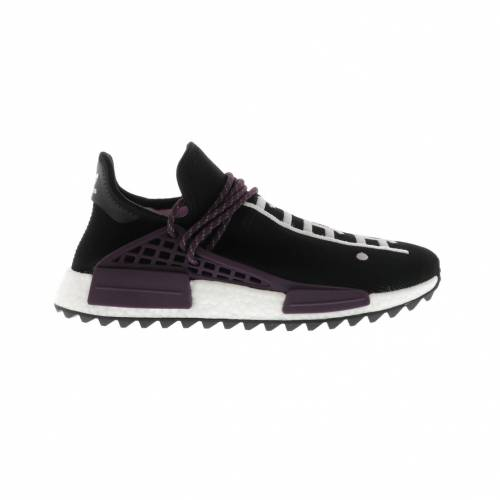 アディダス ADIDAS スニーカー 【 HUMAN RACE NMD PHARRELL HOLI FESTIVAL CORE BLACK DEEPEST PURPLE 】 メンズ