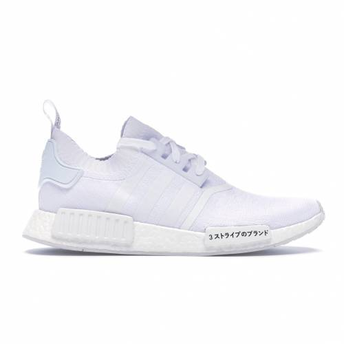 アディダス ADIDAS スニーカー 【 NMD R1 JAPAN TRIPLE WHITE FOOTWEAR 】 メンズ