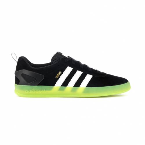 アディダス ADIDAS プロ スニーカー 【 PALACE PRO CHEWY CANNON CORE BLACK FOOTWEAR WHITE SOLAR GREEN 】 メンズ