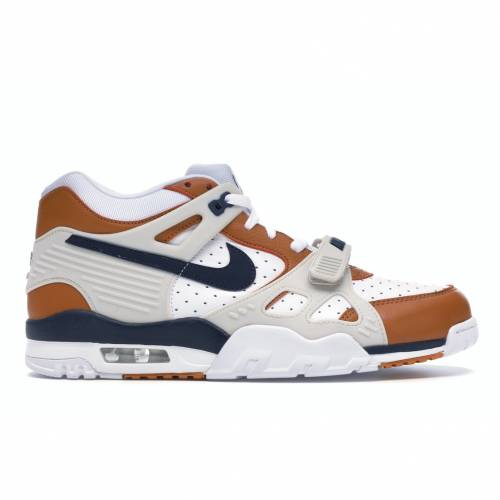 ナイキ NIKE エア トレーナー スニーカー 【 AIR TRAINER 3 MEDICINE BALL 2019 WHITE MIDNIGHT NAVYGINGERLIGHT BONE 】 メンズ