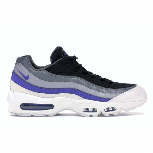 ナイキ NIKE エア マックス 灰色 グレ スニーカー 【 AIR MAX 95 WOLF GREY PERSIAN VIOLET WHITE COOL GREYWOLF GREYPERSIAN 】 メンズ