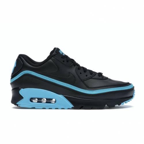 ナイキ NIKE エア マックス 黒 ブラック 青 ブルー スニーカー 【 AIR BLACK BLUE MAX 90 UNDEFEATED FURY 】 メンズ
