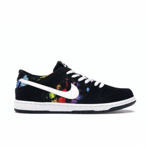 ナイキ NIKE エスビー ダンク スニーカー 【 SB DUNK LOW ISHOD WAIR TIE DYE BLACK WHITE MULTI COLOR 】 メンズ