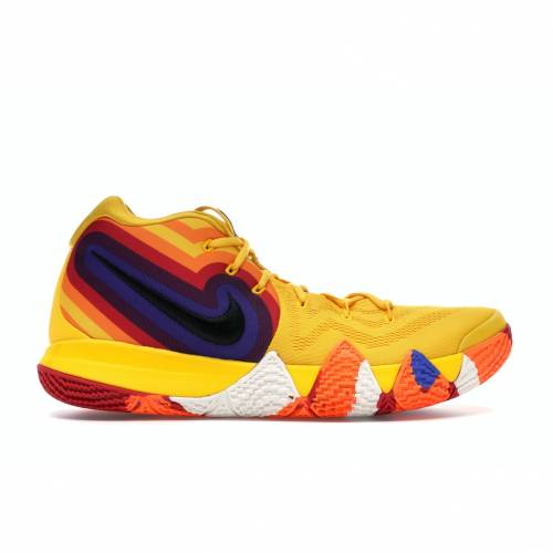ナイキ NIKE カイリー スニーカー 【 KYRIE 4 70S DECADES PACK AMARILLO BLACKSAIL 】 メンズ