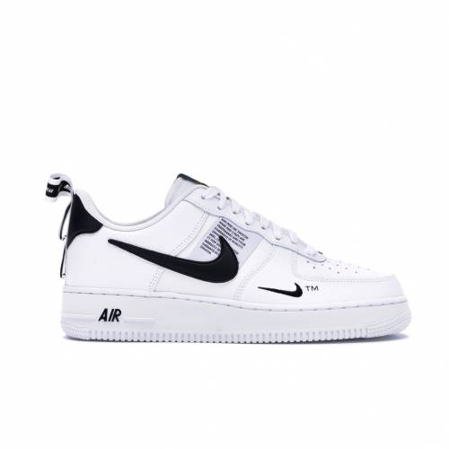 ナイキ NIKE エア 白 ホワイト スニーカー 【 AIR WHITE FORCE 1 LOW UTILITY BLACK WHITEBLACKTOUR YELLOW 】 メンズ