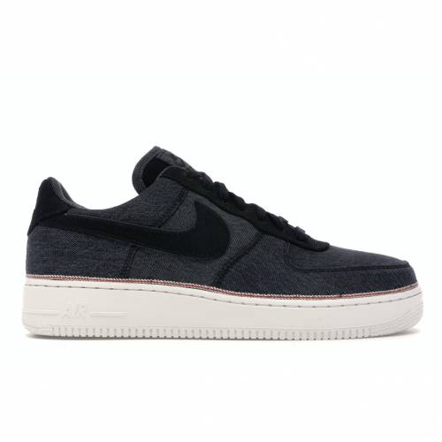 ナイキ NIKE エア デニム スニーカー 【 AIR FORCE 1 LOW 3X1 DENIM BLACK BLACKSUMMIT WHITE 】 メンズ