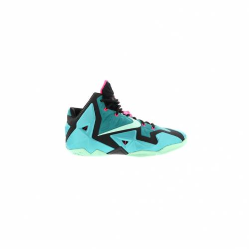 ナイキ NIKE レブロン スニーカー 【 LEBRON 11 SOUTH BEACH TURQUOISE BLACKMINT 】 メンズ