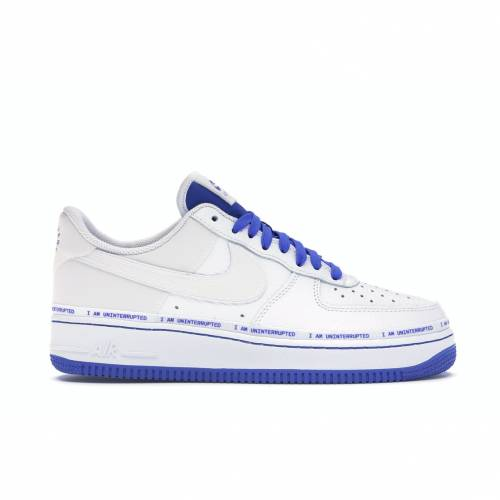 ナイキ NIKE エア スニーカー 【 AIR FORCE 1 LOW UNINTERRUPTED MORE THAN AN ATHLETE WHITE WHITEGAME ROYAL 】 メンズ