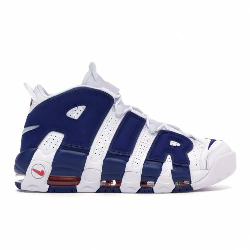 ナイキ NIKE エア アップテンポ スニーカー 【 AIR UPTEMPO MORE KNICKS WHITE DEEP ROYAL BLUETEAM ORANGE 】 メンズ