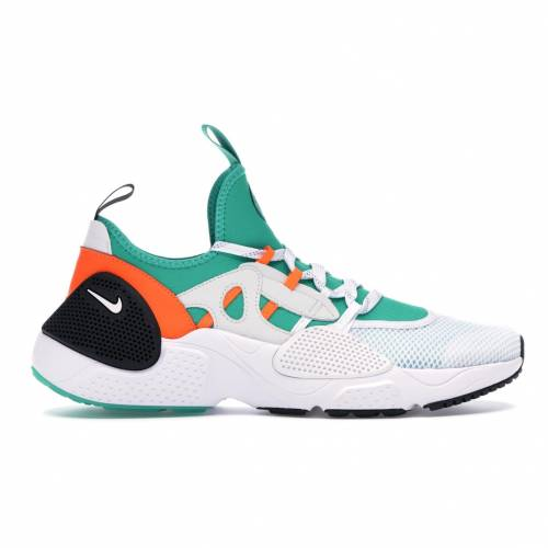 ナイキ NIKE ハラチ スニーカー 【 HUARACHE EDGE SNEAKER OF THE GODS WHITE WHITECLEAR EMERALDTOTAL ORANGE 】 メンズ