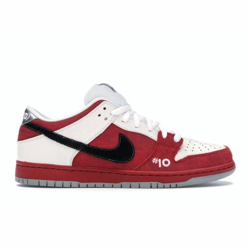 ナイキ NIKE ダンク エスビー スニーカー 【 SB DUNK LOW ROLLER DERBY VARSITY RED BLACKWHITEWOLF GREY 】 メンズ
