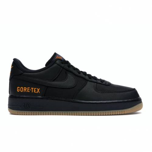 ナイキ NIKE エア 黒 ブラック スニーカー 【 AIR BLACK FORCE ONE LOW GORETEX LIGHT CARBON BRIGHT CERAMIC 】 メンズ