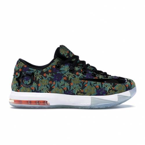 ナイキ NIKE スニーカー 【 KD 6 EXT FLORAL MULTI COLOR BLACK 】 メンズ