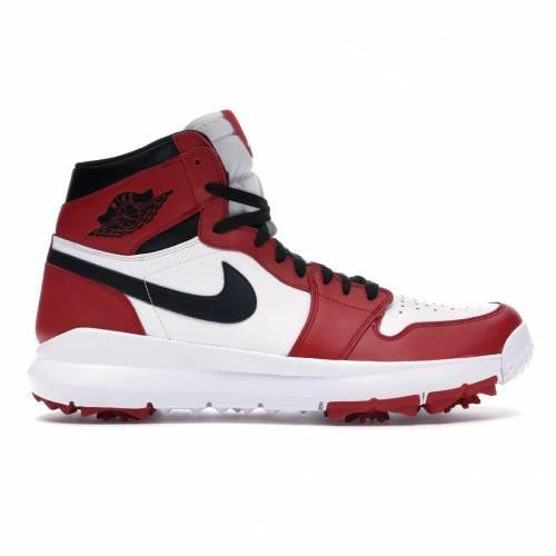 ナイキ ジョーダン JORDAN ゴルフ スニーカー 【 GOLF 1 RETRO CLEAT CHICAGO WHITE BLACKVARSITY RED 】 メンズ