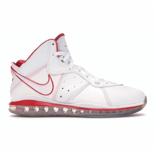 ナイキ NIKE レブロン スニーカー 【 LEBRON 8 CHINA WHITE WHITESPORT RED 】 メンズ