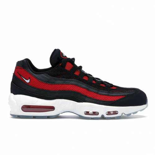 ナイキ NIKE エア マックス スニーカー 【 AIR MAX 95 BRED ICE BLACK WHITEUNIVERSITY REDREFLECT SILVER 】 メンズ
