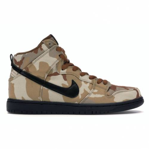 ナイキ NIKE エスビー ダンク ハイ プロ スニーカー 【 SB DUNK HIGH PRO DESERT CAMO PARACHUTE BEIGE BLACKALE BROWN 】 メンズ