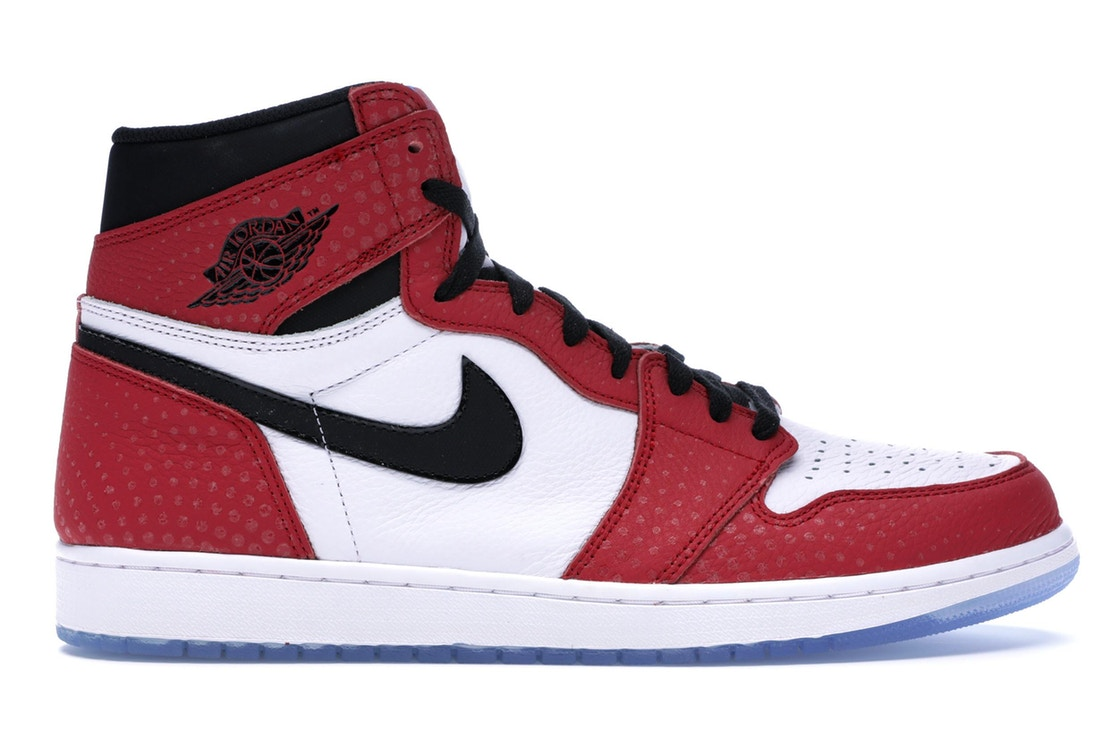 ナイキ ジョーダン JORDAN ハイ スニーカー 【 1 RETRO HIGH SPIDERMAN ORIGIN STORY GYM RED BLACKWHITEPHOTO BLUE 】 メンズ 送料無料