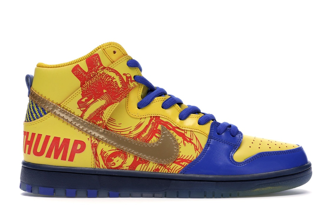 ナイキ NIKE エスビー ダンク ハイ スニーカー 【 SB DUNK HIGH FINNIGAN MOONEY 15TH ANNIVERSARY DOERNBECHER 2019 VIVID SULFUR GAME ROYAL 】 メンズ 送料無料