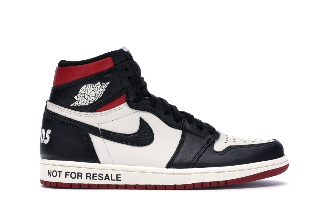 "ナイキ ジョーダン JORDAN ハイ ""NOT RESALE"" スニーカー 【 1 RETRO HIGH FOR VARSITY RED SAIL BLACKVARSITY 】 メンズ"