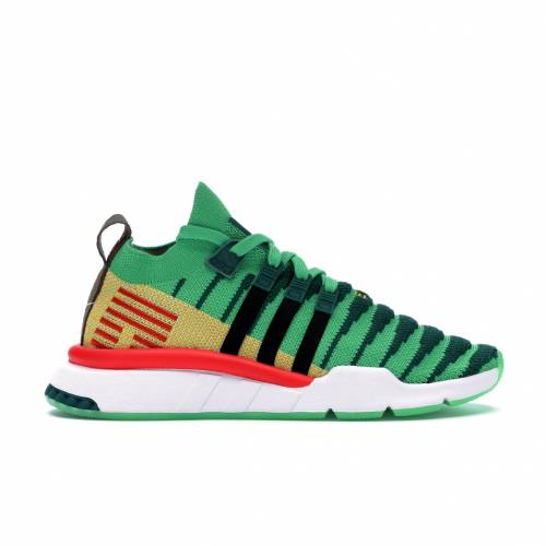 アディダス ADIDAS ミッド ドラゴン スニーカー 【 EQT SUPPORT MID ADV PRIMEKNIT DRAGON BALL Z SHENRON GREEN MULTICOLOR 】 メンズ