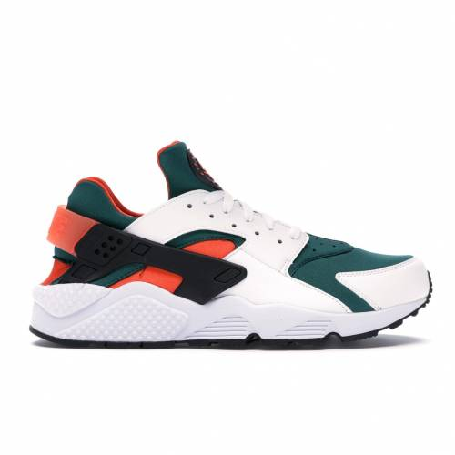 ナイキ NIKE エア ハラチ ラン マイアミ スニーカー 【 AIR HUARACHE RUN MIAMI HURRICANES WHITE BLACKRAINFORESTWILD MANGO 】 メンズ