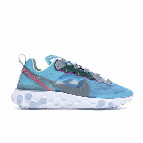 ナイキ NIKE エレメント スニーカー 【 REACT ELEMENT 87 ROYAL TINT BLACKWOLF GREYSOLAR RED 】 メンズ